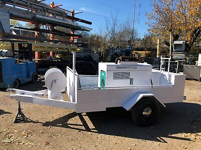 Onan Electric 1800 Rpm Generator 12.5 Kw With Service Trailer Trailer Mounted