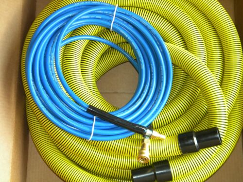 Carpet Cleaning - 50ft Vacuum and Solution Hoses 1.5