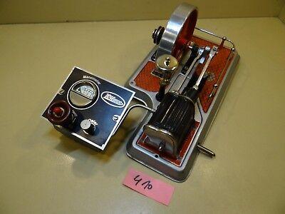 Aggregat Wilesco D24 + Kpl. Steuerpult mit Manometer / 70er J. /  Dampfmaschine
