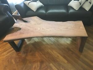Live Edge Rustic Coffee Table