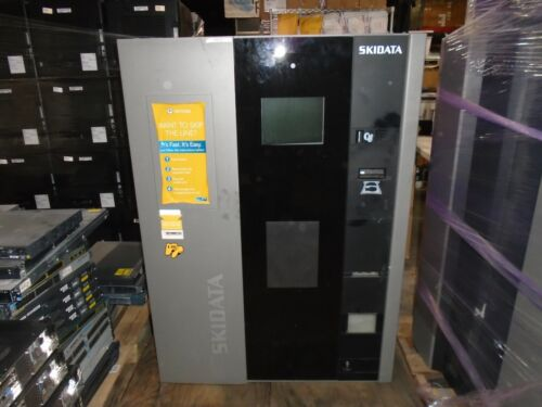 SKIDATA PAY ON FOOT (POF) PARKING KIOSK POWER.CASH AUTOMATED PAYMENT MACHINE