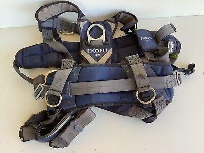 Used 3m Dbi-sala Exofit Nex Fall Protection Harness 1113312 Large 1