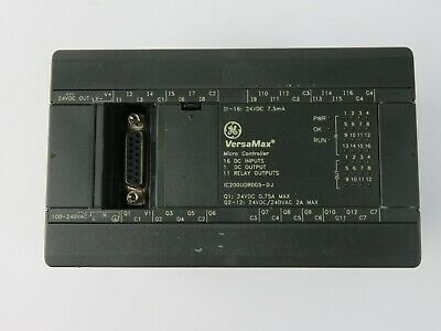 Ge Versamax Ic200udr005-dj Micro Controller