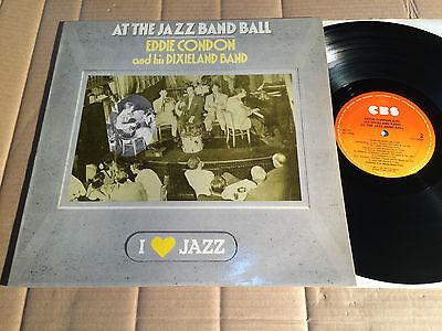 EDDIE CONDON  AND HIS DIXIELAND BAND - AT THE JAZZ BAND BALL - I LOVE JAZZ - LP