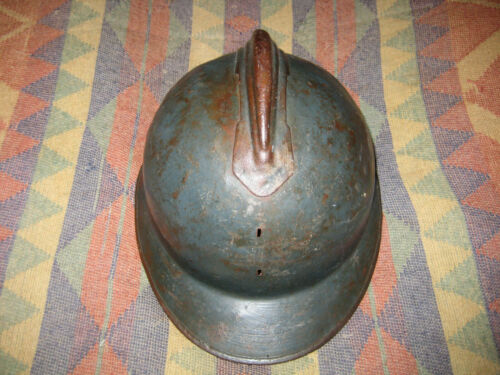 Adrian Helmet Shell WW I WW II France Italy Militaria Military Europe European