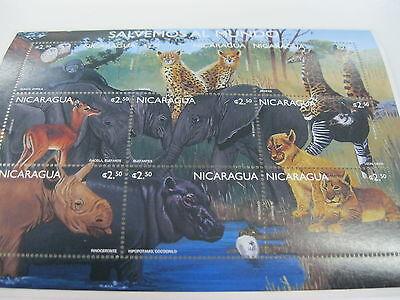NICARAGUA-FAUNA-WILD ANIMAL-ENDANGERED ANIMALS-RHINO ELEPHANT MONKEY