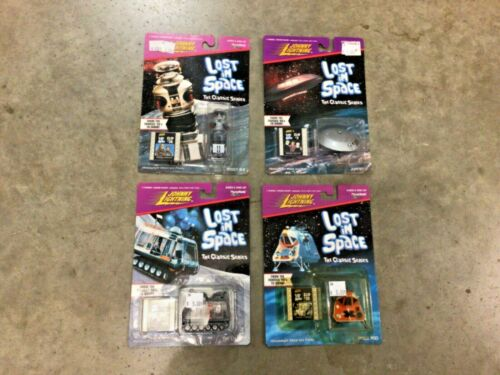 Johnny Lightning 4 piece Lost In Space complete set, FREE Shipping