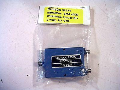 Midisco Power Splitter Model Mdc226 New
