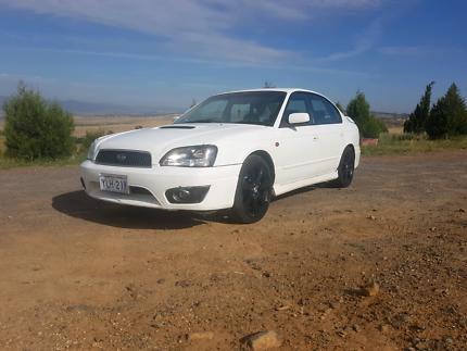 MY03 Subaru Liberty B4 twin turbo (p plate legal)