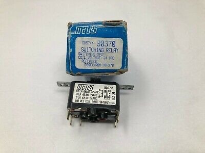 Mars 90370 Switching Relay Spdt Coil 24 Vac