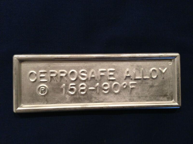 Cerrosafe 160-190 Chamber Casting Alloy 1/2 lb.ingot (7-8 oz.)