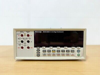 Tektronix Dmm4020 5-12 Digit Multimeter With Leadset