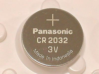 4 pc BULK PANASONIC CR2032 cr 2032 ECR2032 3v Battery EXPIRE 2025
