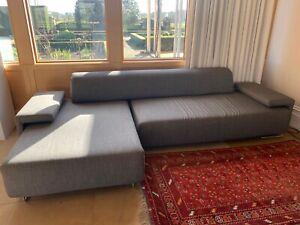 Moroso Lowland Sofa composition grey