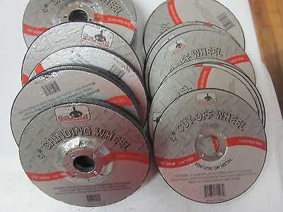 20 4 Grinding Cutting Cut Off Wheels Metal Discs 58 Arbor 15200 Rpm