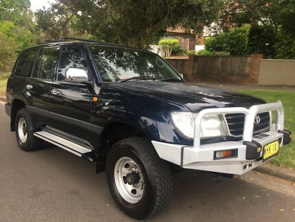 1999 Toyota Landcruiser- FZJ105R 4.5 Litre Petrol - One Owner/Low Kms Lane Cove Lane Cove Area Preview