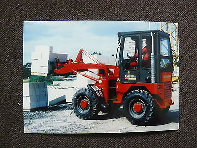 GEHL Kompaktlader Gehlmax - Pressefoto Werk-Foto pressfoto (G0009