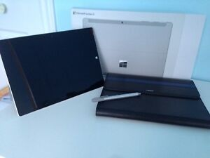 MICROSOFT SURFACE 3 + STYLET + CASE