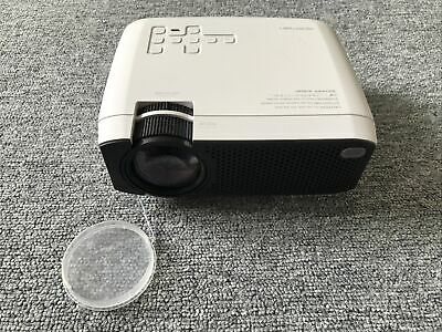 APEMAN LC350 3500 Lumens Mini Portable LCD Projector - White
