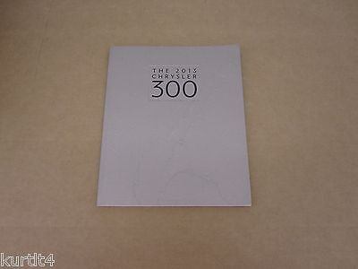 2013 Chrysler 300 300S 300C 300 SRT Luxury Series sales brochure dealer catalog, usado comprar usado  Enviando para Brazil