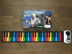 Flexible roll - up piano