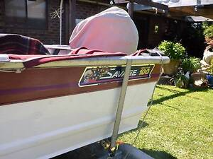 Savage 3mt boat and trailer for sale Canberra City North Canberra Preview