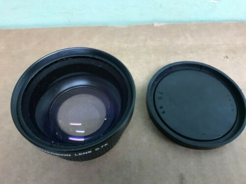 TV wide conversion lens 0.7x