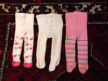 Seven pairs warm Winter baby stockings, size 00+ Dickson North Canberra Preview