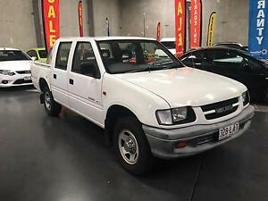 2001 Holden Rodeo  DAUL CAB   Ute FAST  FINANCE OR RENT TO OWN Arundel Gold Coast City Preview
