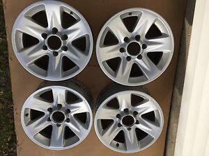 "Alloy rims 17""x8"" 6x139.7 (5.5) bolt pattern"