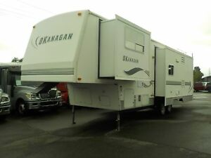 2003 west-coast-leisure 34 Foot Okanagan Fifth Wheel Travel Trai