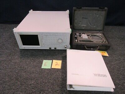 Wiltron Scalar Network Analyzer 54107a 1 Mhz 1500 Mhz 59000 Swr Autotester