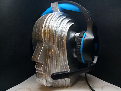 Used, Art Deco Robot Headphone Stand! Headset Holder Rack, 1920's Nouveau Automaton  for sale  Shipping to India