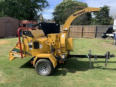 Vermeer Bc900xl Wood Chipper One Owner 2017 147 Hours 9 Feed 35hp Vanguard