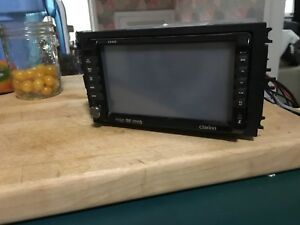 Clarion VX409 car stereo with DVD player