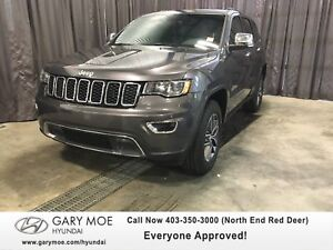 2017 JEEP Grand Cherokee Limited W/ SUNROOF, BACK UP CAM/SENSOR,