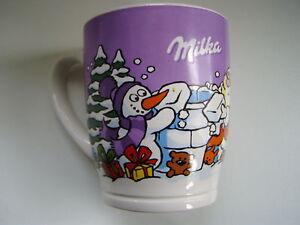 Milka Sammel Becher Milkatasse Nr. 14 Tasse 2014 Weihnachtstasse Sammeltasse NEU
