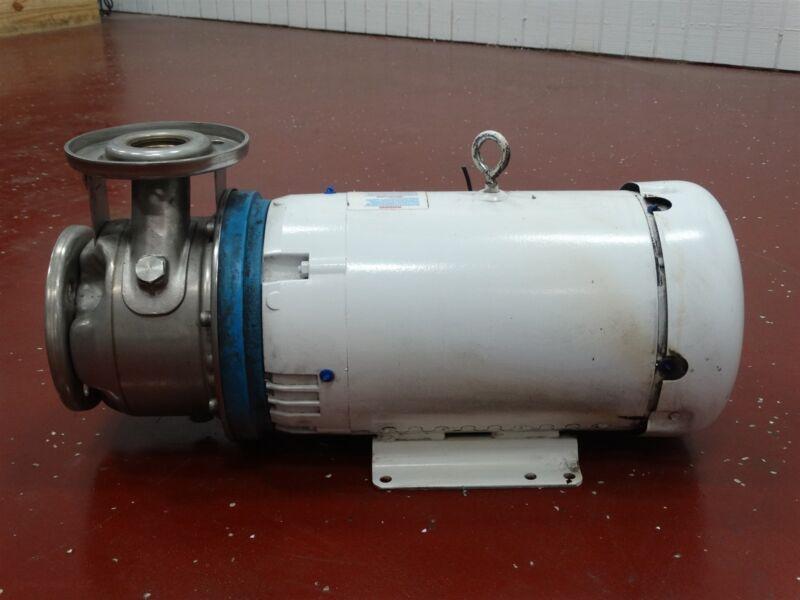 Goulds Pumps Centrifugal Pump/Baldor-Reliance JMWDM3713T Motor 15HP 208-230/460V