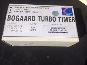 Bogaard turbo timer for 75 series Marangaroo Wanneroo Area Preview