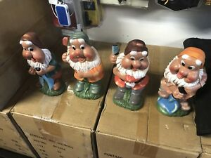 Wholesale lot of dwarfs / garden gnomes new 4 different ones