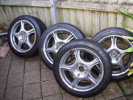 rims and tyres commodore
