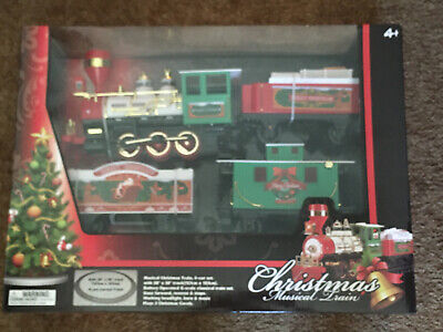 ECHO ~ Musical Christmas Train set battery operated