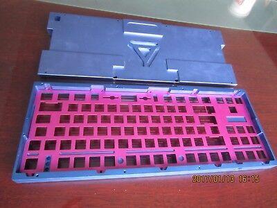 cnc machining aluminium parts blue anodized services
