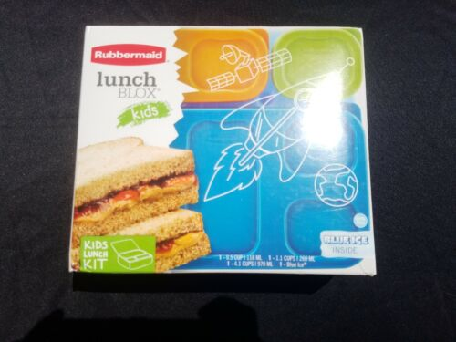 NEW - Rubbermaid Lunch Blox For Kids Lunch Perfectly Packed