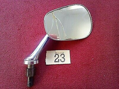 CLASSIC CAR WING MIRROR &  SUPPORT STEM  MORRIS AUSTIN MG ( ect )