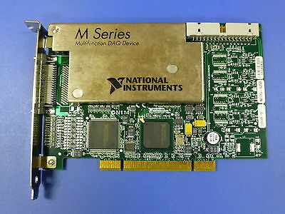 National Instruments Pci-6250 Ni Daq Card Analog Input Multifunction