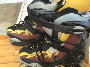 Mongoose fire hawk roller skates
