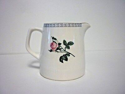 Vintage Figgjo Flint Norway Pink Rose Cream Milk Jug (tea pot on other listing)