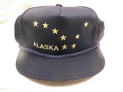 "NOS Vintage Alaska Big Dipper Beautiful Embroidered Hat 1995 CHILD""S Size"