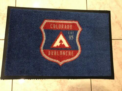 2020 Colorado Avalanche Game Used Stadium Series Player Carpets